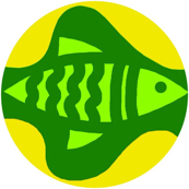 Green Fish Yellow Bubble