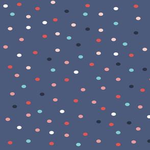 Blue dots by DuniaNalu