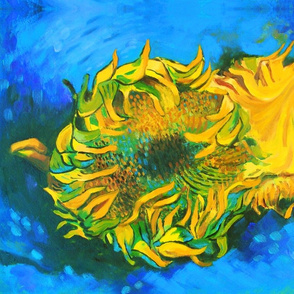 My Own Van Gogh's Sunflowers