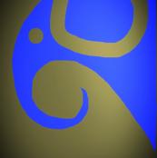Elephant Blue Bronze