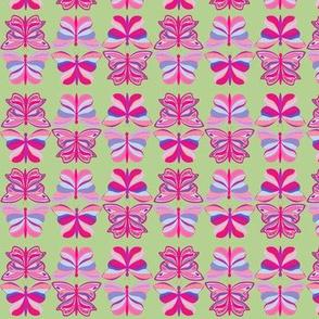Flipped Butterflies