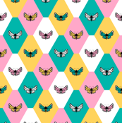 Spring Butterfly Tile