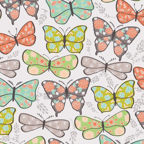 Butterflies in Bloom