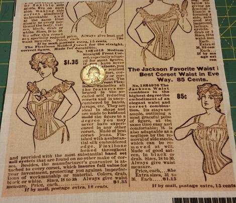Corset catalog