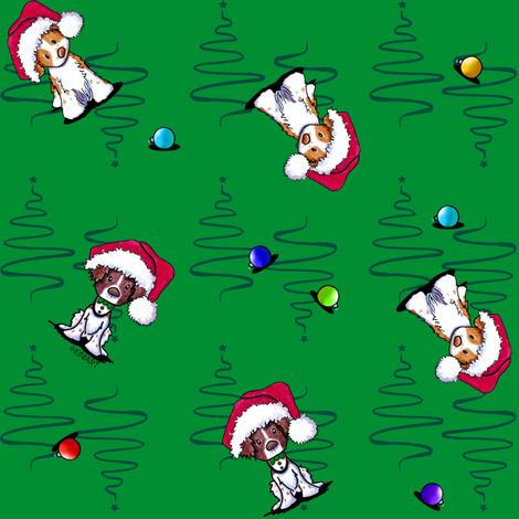 KiniArt Christmas Brittanies
