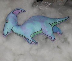 Parasaurolophus Large Pillow