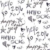 new year graffiti