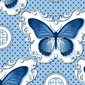 Chinoiserie / Butterfly Main