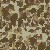 WWII US Camo Beach Side Colorway