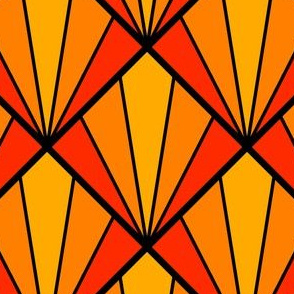 deco diamond 5K : orange
