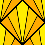 deco diamond 5K : yellow