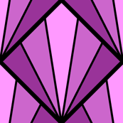 deco diamond 5K : magenta purple
