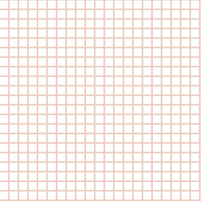 Grid - White/Pale Pink (Tiny) by Andrea Lauren