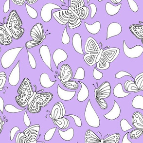 Butterfly Talk_Purple
