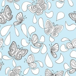 Butterfly Talk_Blue