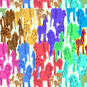 Animal Cookies Pop Art
