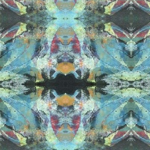 """Aqua Blue Ethereal Abstract"""