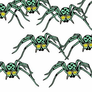 Spiders green