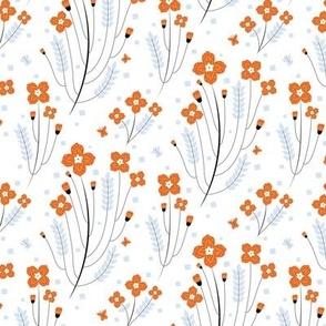 Flowers of Tanto orange