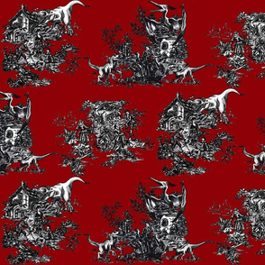 Jurassic toile blood