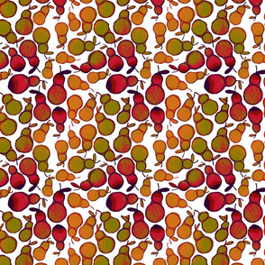 Pears - red