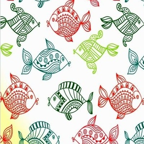 colorful_patterned_fish_swimming_