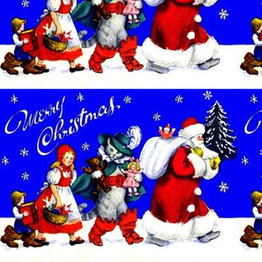 Merry Christmas children books gifts presents toys cats kittens teddy bears dolls pussy boots fairy tales Santa Claus trees snowflakes snow winter