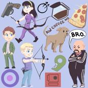 Hawkeye Pattern