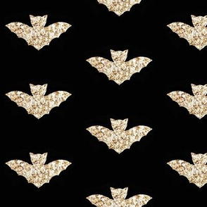 gold bat black