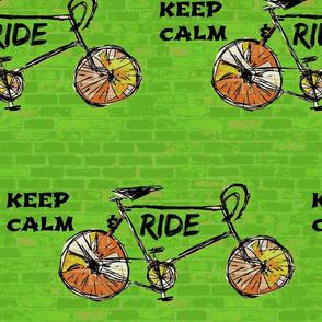 Keep Calm & Ride