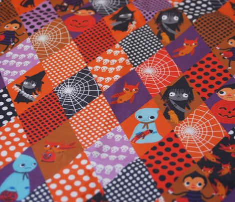 Halloween Cheater Fabric
