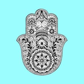 hamsa_hand_light_blue_fabric