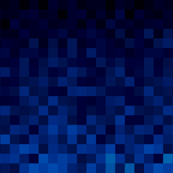 Darker Blue Pixel Gradient