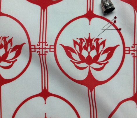 Cutting Paper - Lotus Red Small
