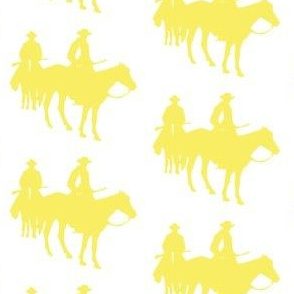 cowboys yellow and white