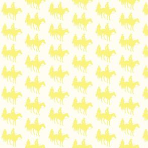 cowboy cream and yellow
