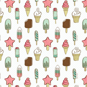 Ice Cream Dream Pattern