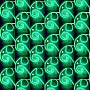 Aqua Glow Elephants