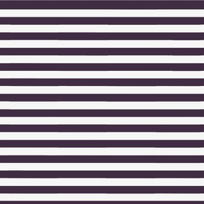 Plum Wide Stripe