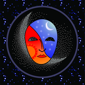 Mask and Moon