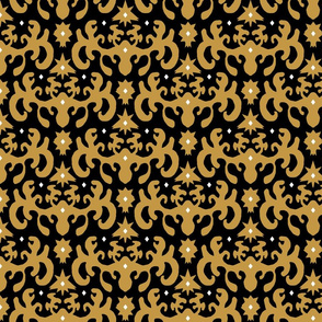 Ink Blot Damask