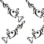 Music Heart and Arrow V