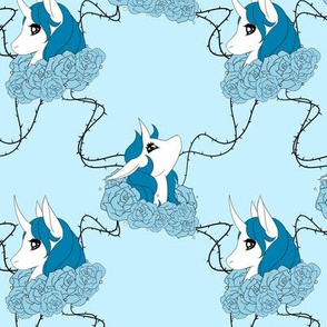 Blue Rose Unicorns