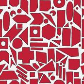 Pop-art  geometrical pattern