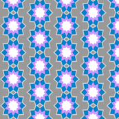 Starburst Flower - Blue (v1)