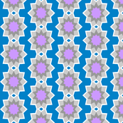 Starburst Flower - Blue (v2)
