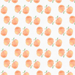 Watercolor Peach Pattern