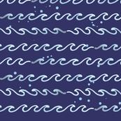 Ocean Wave - Blue
