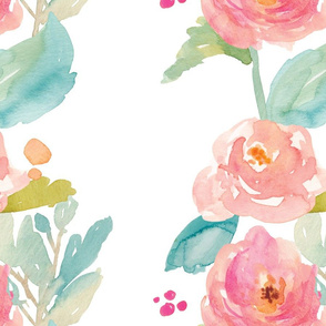 Painted Watercolor Floral