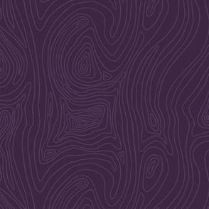 Purple Wood Grain